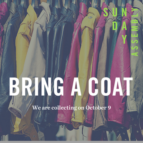 Coat Drive this month!