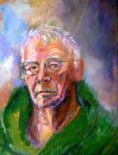 Portrait of Nile Peterson, Poet Laureate